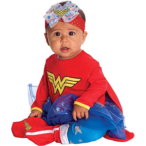 Baby Girls DC Friends Wonder Woman Costume Size 12-18 Months