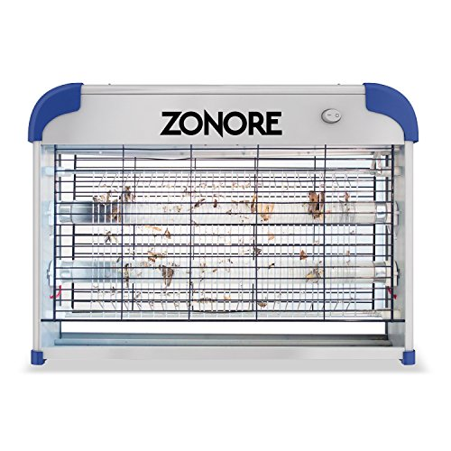 zonore 20w electronic bug zapper insect killer for. Black Bedroom Furniture Sets. Home Design Ideas