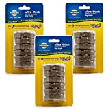 PetSafe Busy Buddy Ultra Refill Dog Treats for Medium Busy Buddy Ultra Dog Toys, Natural Rawhide, Size E (3 Pack)