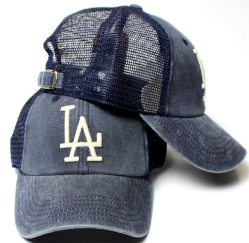 American Needle Baseball Cap - American Needle Los Angeles Dodgers Raglan Bones Soft Mesh Back Slouch Twill Cap