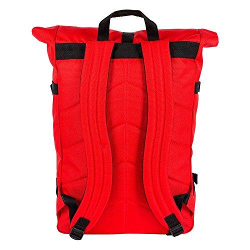 POLER Bag RETRO (CLASSIC) ROLLTOP Rucksack, 69 cm, 28 L, Bright Red, 13100014-BRR