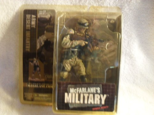 Rare McFarlane's Military Army: Desert Infantry - FACTORY SEALED from McFarlane