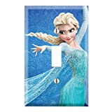 Frozen Alsa Single Toggle Light Switch Decor Wall Plate Cover