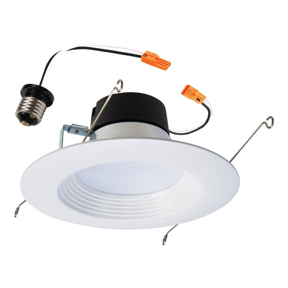 Halo LT560WH6927 5'' and 6'' White 90CRI, 2700K, Integrated LED Recessed Retrofit Baffle Trim LED Module, White