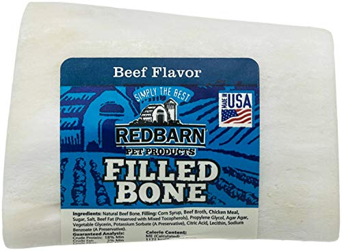 Redbarn Filled Bone Peanut Butter, Small 3-Inch
