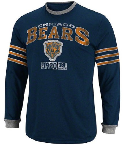 newest bf09a 04540 Amazon.com : Chicago Bears Victory Pride IV Long Sleeve ...