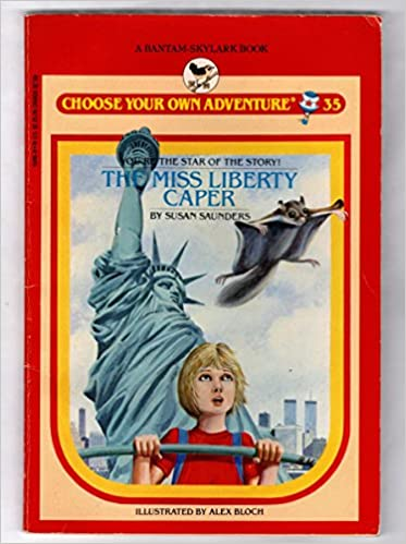 Book MISS LIBERTY CAPER (Choose Your Own Adventure)