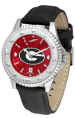 (Georgia Bulldogs Competitor AnoChrome Men's Watch)
