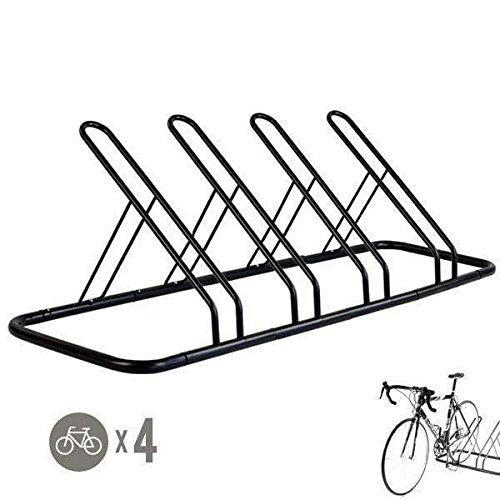 1 - 4 Bike Floor Parking Rack Storage Stand Bicycle by CyclingDeal