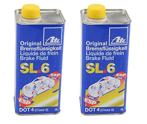 ATE Brake Fluid DOT 4 SL.6 (2 Liters) by ATE