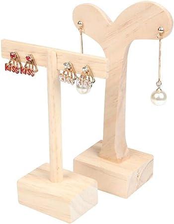espositore legno orecchini