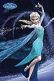 FROZEN - Poster Reine des Neiges - 61 x 91cm - Elsa - Let it Go