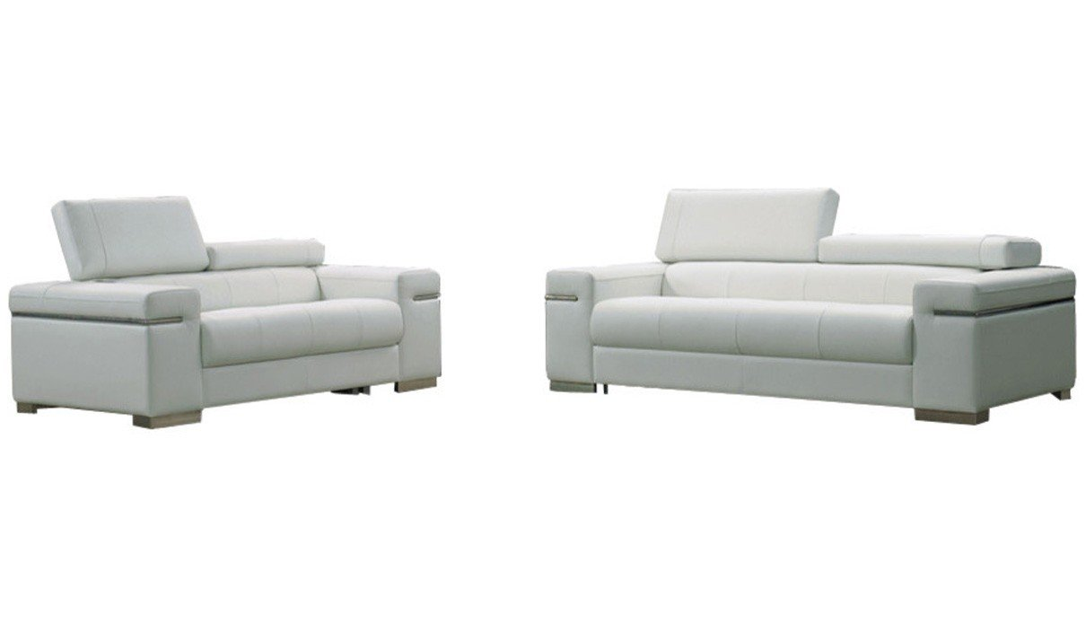 Amazon.com: J&M Furniture Soho 3-Piece Leather Living Room ...
