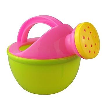 Amazon.com: Lanlan 1 Pcs Baby Bath Toy Plastic Watering Can ...