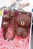 Best GENERIC Friend Key Rings - Generic Korean cute ln brown bear key Ring Review