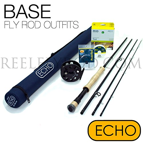 Echo Base 890-4 Fly Rod Outfit (8wt, 9'0'', 4pc) by Echo