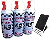 Generic Compressed Air Duster 10oz 3-packs (With a Bonus Cellular Phone Stand of 3.99 Value)