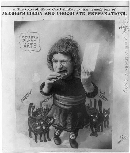 Photo: Greedy Kate,McCobb's Cocoa and Chocolate Preparations