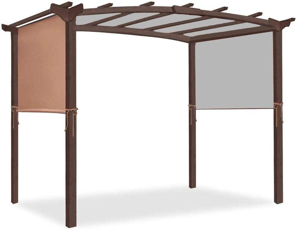 Pérgola para terraza de Nrkin, pérgola para terraza, con protección UV para terraza, jardín, protección solar, de repuesto duradero.: Amazon.es: Hogar