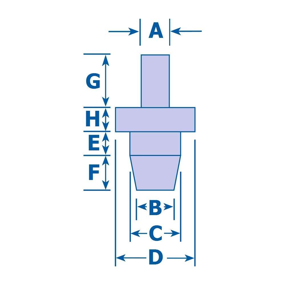 3//4-10 Hard-to-Find Fastener 014973323356 Thin Pattern Nylon Insert Lock Nuts Piece-5