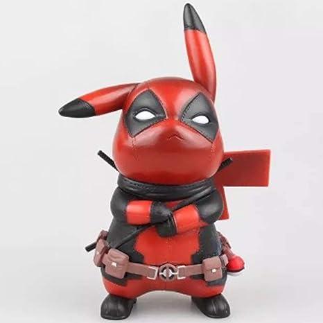 Llsdls Estatua de Juguete Muñeca de Juguete Anime Pikachu ...