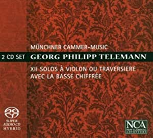 Telemann: Xii Solos A Violin Ou Traversiere