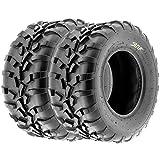SunF All Terrain ATV UTV Sport Tires 25x11-12 25x11x12 6 PR A010 (Set pair of 2)