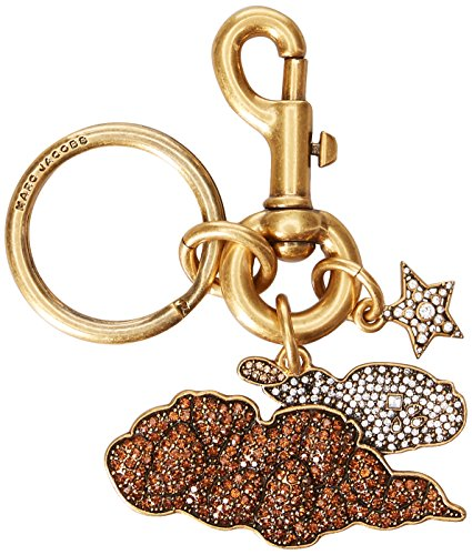 Marc Jacobs Women's Cartoon Strass Cloud Cluster Bag Charm, Antique Gold by Marc Jacobs
