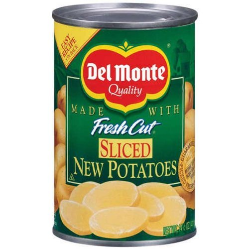 Del Monte Sliced New Potatoes 14.5 oz (Pack of 12)