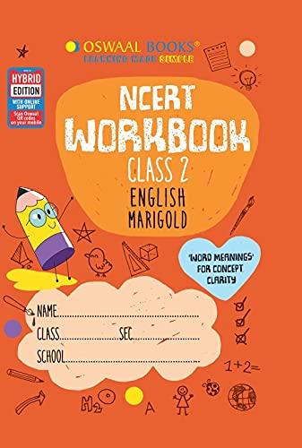 Oswaal NCERT Workbook Class 2 English Marigold Book