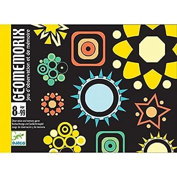 Djeco - Juego de cartas Geomemorix: Amazon.es: Juguetes y juegos