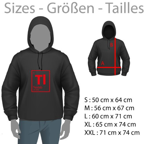 TEXLAB - Home is where the WIFI connects automatically - Herren Kapuzenpullover Schwarz