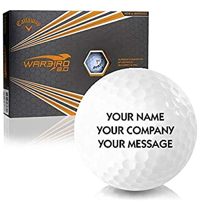 Callaway Golf Warbird 2.0 Personalized Golf Balls by Callaway Golf