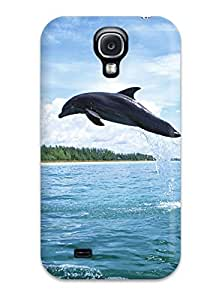 Renee Jo Pinson's Shop 1015563K69010795 Snap-on Dolphins Case Cover Skin Compatible With Galaxy S4