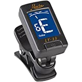 Domybest LCD Digital Guitar Tuner Clip-on Electronic Tuner With a Clip for Chromatic Bass Violin Ukulele