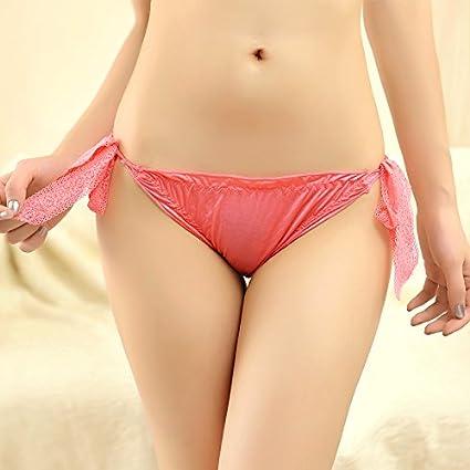 RRRRZ* La mujer sexy bragas y ropa interior femenina cintura baja tentación de confort con