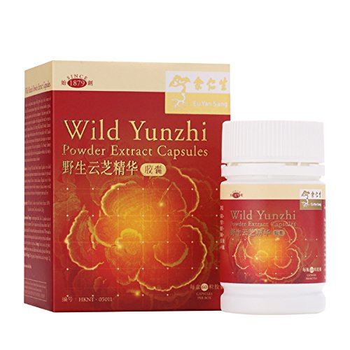 Eu Yan Sang Wild Yunzhi Powder Extract 200Mg 100% Natural, 60 Capsules by Eu Yan Sang