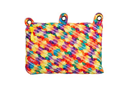 ZIPIT Colorz 3-Ring Pencil Case, Small Bubbles