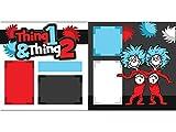 """""""Thing 1 & Thing 2"""" Scrapbook Kit"""
