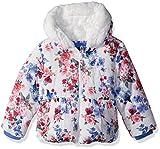 Rothschild Little Girls Jacket, Multi Rose, L