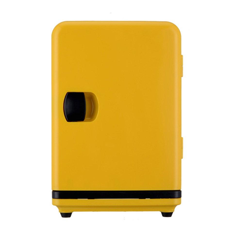 LIQICAI 5L Mini Kühlschrank Tragbarer Easy-Carry-Drehgriff 12V DC (Auto)/230V AC (Zuhause)