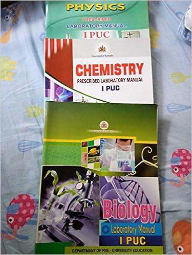 Amazon in: Buy Physics, chemistry, biology laboratory manual