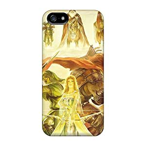 AlissaDubois Iphone 5/5s Scratch Resistant Cell-phone Hard Cover Support Personal Customs Trendy Legend Of Zelda Series [ZeM18119EDxV]