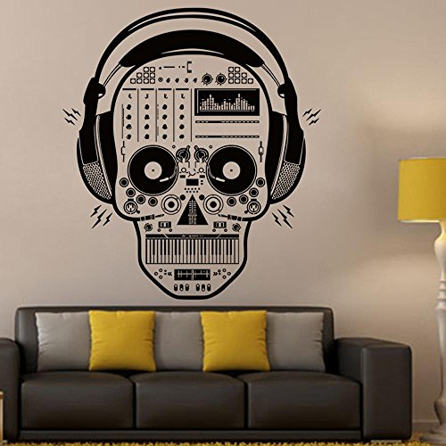 Wall Sticker, Hatop Halloween Skeleton Background Decorated Living Room Bedroom Wall Stickers (Halloween Tumblr Names)