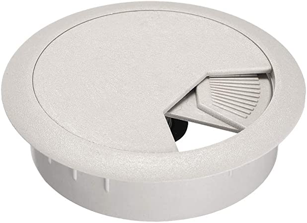 White 5 Pack 2 White Desk Grommet