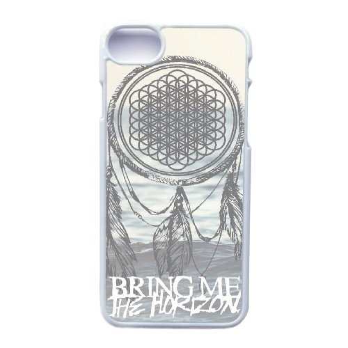 Coque,Apple Coque iphone 7 (4.7 pouce) Case Coque, Generic Bring Me The Horizon Cover Case Cover for Coque iphone 7 (4.7 pouce) blanc Hard Plastic Phone Case Cover