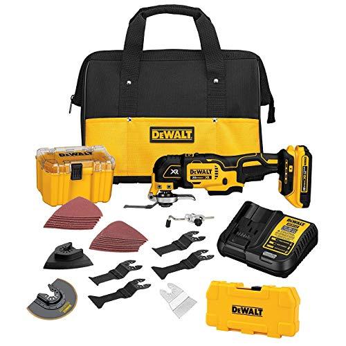 DEWALT 20V MAX XR Brushless Oscillating Tool w/ 5-Piece Accessory Set (DCS355D1 & DWA4216)