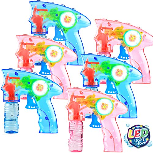 6 Pcs Bubble Gun
