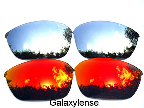 Galaxy Replacement Lenses for Oakley Half Jacket 2.0 Red&Titanium Color Polarized 2 - Lens Colors Oakley