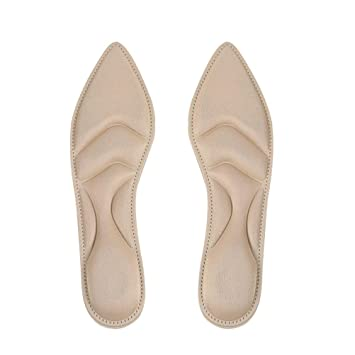 FENICAL Plantillas de Zapatos de Poliuretano de Espuma con Memoria Inserciones Deportivas Transpirables para Mujeres Albaricoque: Amazon.es: Hogar